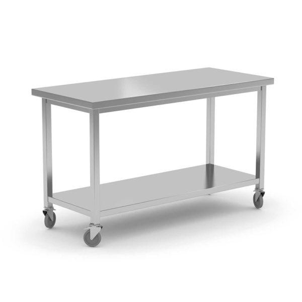 Stół centralny z półką jezdny
